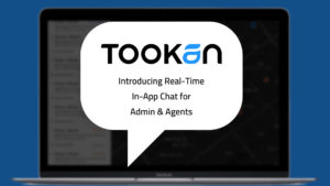 tookan chat feature for admin and agent